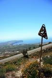 Santorinieiland Stock Afbeelding