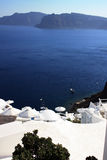 Santorinieiland Royalty-vrije Stock Foto's