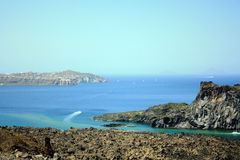 Santorinieiland Stock Foto's