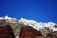 Santorinieiland Stock Afbeeldingen