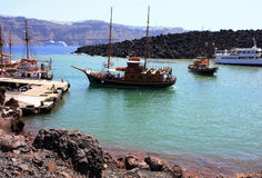 Santorinieiland Stock Fotografie