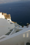Santorinis Ansicht Stockfotos