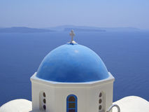 Santorinis island Royalty Free Stock Images