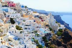Santorinni Greece during Daytime Stock Images