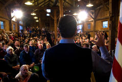 Santorum Speaks Stock Image