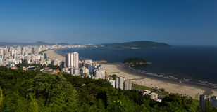 Santos, Brasil Imagem de Stock Royalty Free