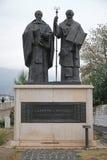 Santos Cyril y Methodius Foto de archivo