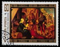 Santos de la pintura Imagen de archivo libre de regalías
