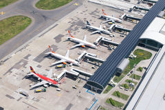 Santos Dumont airport Royalty Free Stock Photo