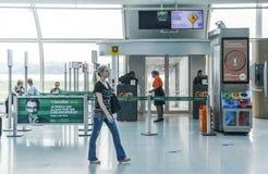 Santos Dumont Airport, Rio de Janeiro, Brésil Image libre de droits