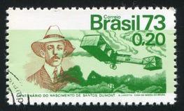 Santos Dumont Plane Immagine Stock Libera da Diritti