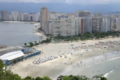 Santos e Sao Vicente - Sao Paulo - Brasil Fotografia de Stock