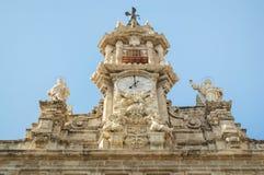 Santos Juanes kyrka Valencia, Spanien Fotografering för Bildbyråer