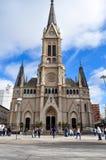 Santos Pedro y Cecilia Cathedral im März Del Plata, Buenos Aires Lizenzfreie Stockfotografie