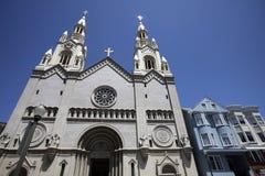 Santos Peter e iglesia de Paul, San Francisco Imagen de archivo