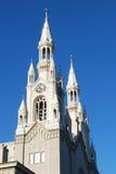 Santos Peter e iglesia de Paul, San Francisco, los E.E.U.U. Fotografía de archivo