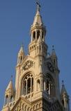 Santos Peter e iglesia San Francisco de Paul Fotos de archivo