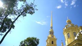 Santos Peter y catedral de Paul almacen de video