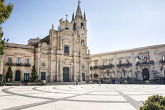 Santos Peter y Paul Acireale Sicily de la iglesia Fotos de archivo libres de regalías