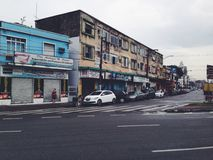 Santos stad Fotografering för Bildbyråer