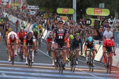 Santos Tour Down Under 2015 Immagini Stock