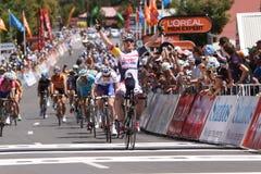 Santos Tour Down Under 2015 Lizenzfreies Stockbild