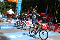 Santos Tour Down Under 2015 Lizenzfreie Stockfotografie