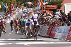 Santos Tour Down Under 2015 Royalty Free Stock Image