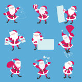 Santas Royalty Free Stock Image