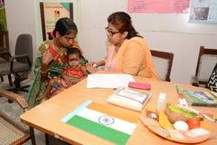 Santés de l'enfant Photographie stock libre de droits
