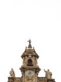 sants joans教会的钟楼在巴伦西亚,西班牙 库存图片