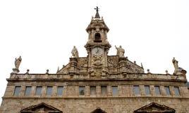 sants joans教会的钟楼在巴伦西亚,西班牙 免版税库存图片