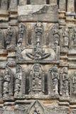 Santuário antigo do templo da escultura do anjo Fotografia de Stock Royalty Free