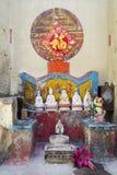 Santuário chinês na rua do taipa em macau Fotos de Stock Royalty Free