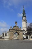 Santuário Czestochowa.Poland de Jasna Gora da porta Foto de Stock Royalty Free