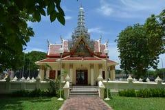 Santuário da coluna da cidade na tarde Fotos de Stock Royalty Free