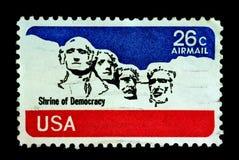 Santuário da democracia imagens de stock