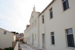 Santuário da Mary abençoada de Jesus Crucified Petkovic em Blato, Croácia foto de stock