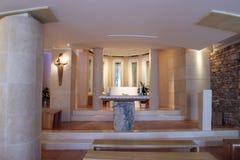 Santuário da Mary abençoada de Jesus Crucified Petkovic em Blato, Croácia fotos de stock royalty free