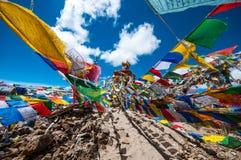 Santuário da passagem de Khardungla Imagens de Stock Royalty Free