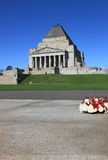 Santuário da relembrança Melbourne  Fotografia de Stock Royalty Free