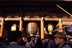 Santuário de Asakusa em Tokyo Fotografia de Stock