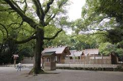 Santuário de Atsuta, Nagoya, Japão fotos de stock royalty free