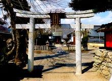Santuário de Daishogun, Otsu, Japão Fotos de Stock Royalty Free