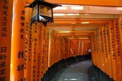 Santuário de Fushimi-Inari Fotos de Stock Royalty Free