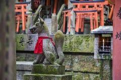 Santuário de Fushimi Inari em Kyoto, Japão Imagem de Stock Royalty Free
