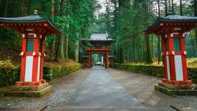 Santuário de Futarasan em Nikko, Japão imagem de stock royalty free