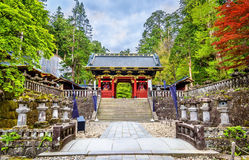 Santuário de Futarasan, um local do patrimônio mundial do UNESCO em Nikko Imagens de Stock