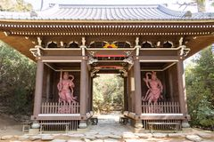 Santuário de Hachiman, Miyajima, Hiroshima Japão Imagens de Stock