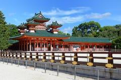 Santuário de Heian fotos de stock royalty free